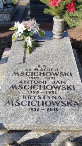 Ks. Maciej Mścichowski <br />(1915-1971)