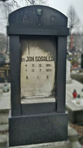 Ks. Jan Sosalla<br />(1881-1920)