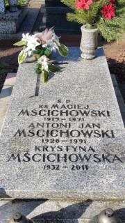 Ksiądz Maciej Mścichowski