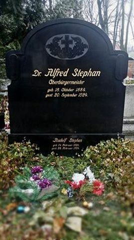 Alfred Stephan <br />(1884-1924)
