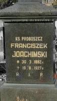 Ksiądz proboszcz Franciszek Joachimski